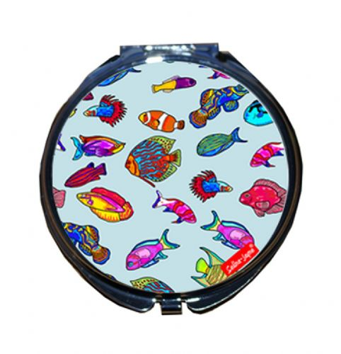 Selina-Jayne Tropical Fish Limited Edition Compact Mirror